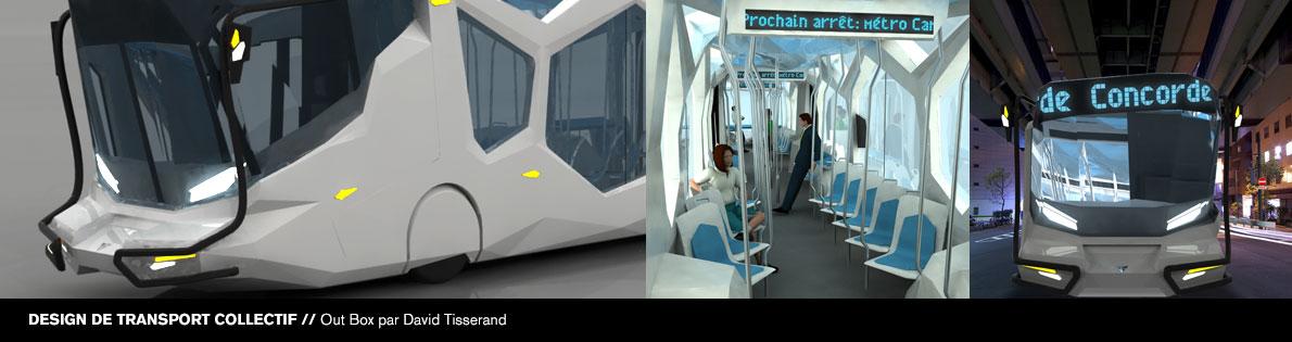 Bannière #1 du DESS en design d'équipement de transport