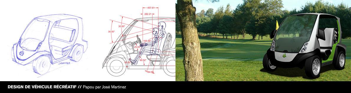 Bannière #4 du DESS en design d'équipement de transport