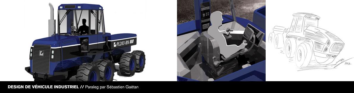 Bannière #7 du DESS en design d'équipement de transport